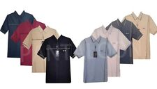 908/991  Mens Short Sleeve Golf Polo Shirt Casual Top M - 2XL By Tom Hagan