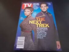 Star Trek: Enterprise, Charmed - TV Guide Magazine 2001