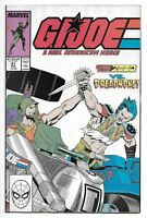 G.I. JOE A Real American Hero! # 81 (1988) FN+ Marvel Comics GI Joe