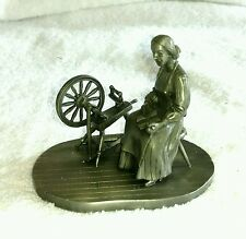 1976 People of Canada The Pioneer Woman Pewter Figurine from THE FRANKLIN MINT