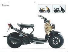 Scooter Data Sheet - Honda - Ruckus - Marketing Photos - 2004 (DC621)