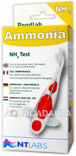 NT LABS POND AMMONIA TEST NH3 HEALTH WASTE CHECK WATER TESTING KIT KOI FISH SET