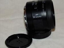 Minolta 50mm F3.5 Macro Lens - (Sony Alpha) condizioni eccellenti