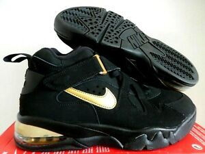 Nike Air Force Max CB 34 Barkley Black Gold Men Trainer AJ7922 001 one Sz 10