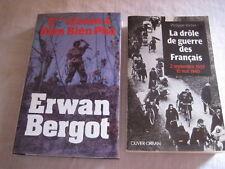 2 Livres 2° classe à Dien Bien Phu et La drôle de guerre des Français