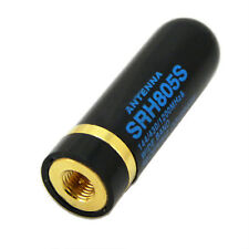 SRH805S SMA-J/SMA-Male Dual Band UHV+VHF antenne per BF-UV3R UV100 YAESU Radios