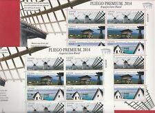 "2 PLIEGOS PREMIUM ""ARQUITECTURA RURAL"" DEL AÑO 2014."