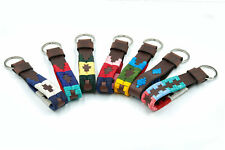 Gaucho Goods Premium Leather Key Chains, Keyrings