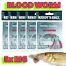 5 Whiting Rigs Vaule Pack Fishing Tied Flasher Lure Rig 30lb Leader Paternoster