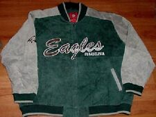 Philadelphia Eagles Suede Leather Jacket 3XL Specialty NFL