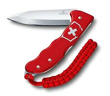 VICTORINOX HUNTER PRO RED ALOX W/ Paracord Lanyard   - Brand New Switzerland