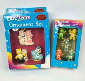 Care Bears Ornament Sets Two Boxes (2005)