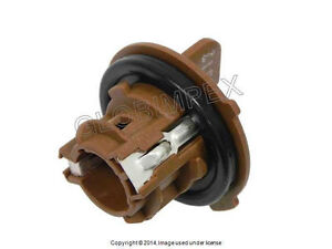 BMW E90 E91 (2006-2008) Bulb Socket for Turn Signal Front Left or Right GENUINE