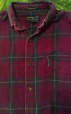 AMBERCROMBIE & FITCH Co. The Original Big Shirt Size L Vintage 90s plaid