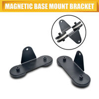 2PCS Strong Magnetic Mount Bracket Holder Base Roof LED Light Bar For Car SUV