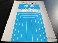 Toyota MR2 SW20 Werkstatthandbuch Motor 3S-GE Abgaskontollsystem 1990
