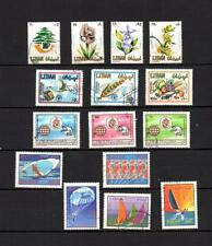 Liban COLLECTION  of POSTALLY USED MODERN LARGE STAMP   LOT( LEB 652)