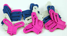 COLOURED 10 SOCK SORTERS PEGS HOLDERS DRYING LAUNDRY CLIPS DRYER WASHING LINE