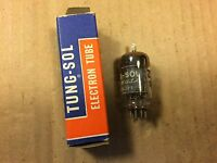 NOS NIB Vintage Tung-Sol 12AU7 Vacuum Tube 1954 Made in USA Tested VERY WEAK
