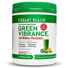 Vibrant Health GREEN VIBRANCE v16.0 Superfood Probiotics - 60 DAY SUPPLY