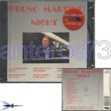 """BRUNO MARTINO """"NIGHT"""" RARO CD 1991 TARGA - SIGILLATO"""