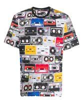 Love Moschino Cassette Print - Mens Grey T-Shirt