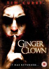 Ginger Clown      **Brand New DVD**  Tim Curry Horror