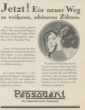 Y6832 PEPSODENT Zahnpasta -  Pubblicità d'epoca - 1929 Old advertising