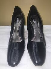 Espanola black Pumps Classics Women's Shoes leather upper Size 10 M Pre-owned