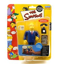 The Simpson World of Springfield Series 8 Super-Intendent Chalmers Action Figure
