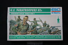 YB147 ESCI 1/72 maquette figurine P-209 US Paratroopers 82a Screaming Eagles NB