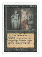 Magic the gathering ~ MTG ~ 1x ROYAL ASSASSIN ~ UNLIMITED ~ MP ~ SCANS