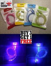 LED Light Micro USB Charger Cable for Sony, Christmas Gift, Stocking Filler