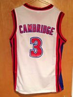 Calvin Cambridge #3 LA Knights Basketball Jersey Like Mike Lil Bow Wow 2 Colors