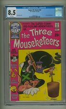 Super DC Giant 18 (CGC 8.5) White pages; Three Mouseketeers; 1970 (c#22192)