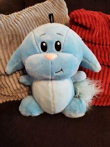 RARE NEOPETS Kacheek Blue Plush Stuffed Animal Toy 2003 Thinkway Toys WORKS