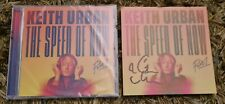 KEITH URBAN THE SPEED OF NOW PART 1 CD BRAND NEW AND SIGNED CARD