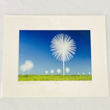 """Don Ament Photographer Flower Power Towers 10 Print Numbered Matted 8"""" x 10"""""""