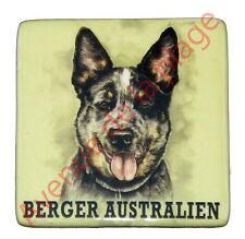 """Magnet chien """"Berger Australien"""" frigo réfrigirateur micro onde idée cadeau NEUF"""