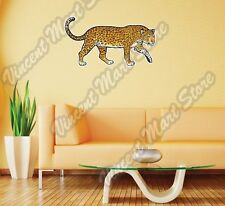 "Leopard Panthera Wild African Animal Wall Sticker Room Interior Decor 25""X14"""