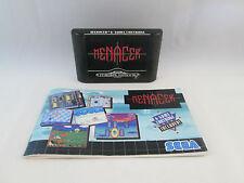 Sega Mega Drive / Genesis - Menacer 6 Game Cartridge + Manual