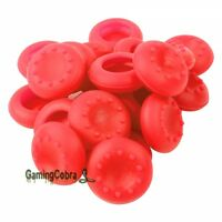 20 PCS Red Controller Thumb Stick Grip Thumbstick Cap Covers for Xbox One PS4