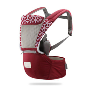 Breathable Ergonomic Baby Carrier Backpack Portable Kangaroo Hipseat Carrier Wra