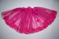 HOT PINK TUTU PETTISKIRT SKIRT CHILD SMALL COSTUME DANCE BALLET DRESS UP