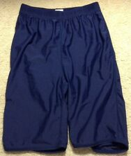 GTM Boys Girls Youth Compression Shorts Navy Sz Small ZH
