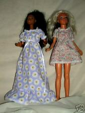 "Ng Creations Sew Pattern #47 Peasant Dress fits 18"" Barbie Tiffany Taylor Doll"