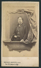 CDV c. 1870 - Charles LEFEBVRE Peintre Compositeur - T380