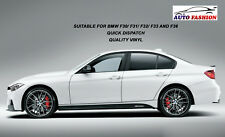 BMW F30 F31 F32 F33 M Performance Side Skirt Sticker Matte Black