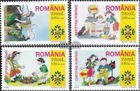 Rumänien 5943-5946 (kompl.Ausg.) postfrisch 2005 Pfadfinder