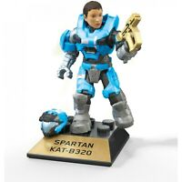 Mega Construx Halo Heroes Pro Builders Series 10 Spartan Kat Mini Figure GFT38
